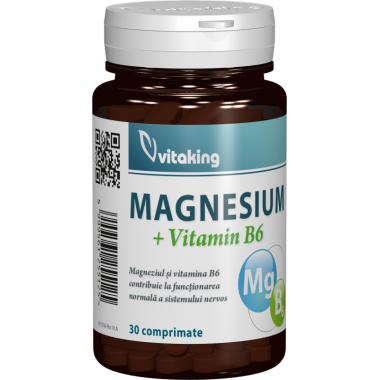 Magneziu cu Vitamina B6 - 30 capsule